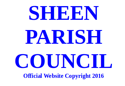Sheen Parish Council